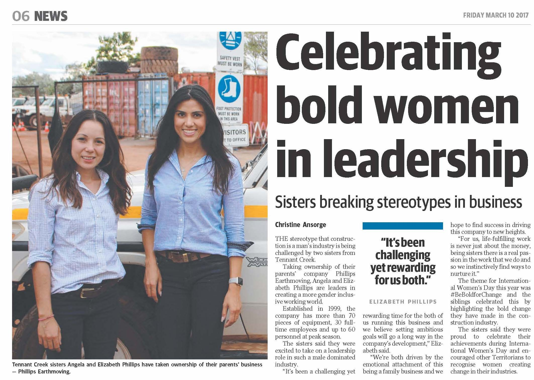 centralian-advocate-10-march-2017-celebrating-bold-women-in-leadership